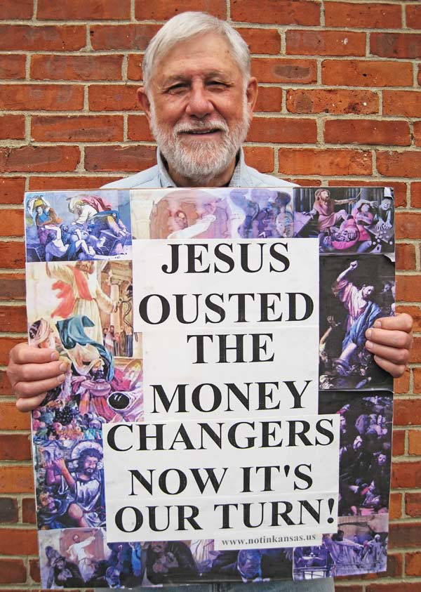 Oust the Moneychangers